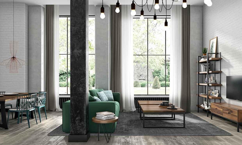 10 maneras de colocar el sofá y aprovechar mejor el espacio del salón