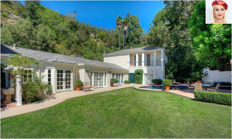 Katy Perry pone a la venta una de sus elegantes mansiones en Beverly Hills