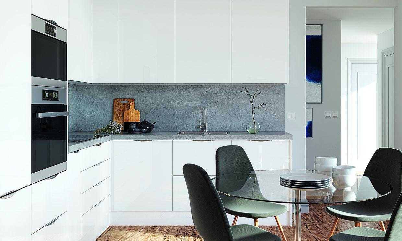 ¿Sabes cuál es el mejor material para el salpicadero de la cocina?