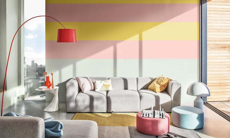 Trucos e ideas geniales para pintar una pared de rayas