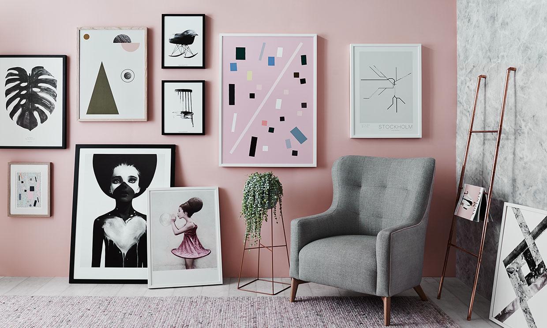 Las mejores ideas para crear una galería de cuadros en la pared