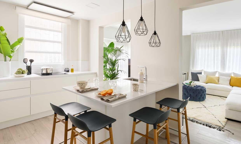 Diseño de cocinas: cuántos enchufes se necesitan y dónde colocarlos