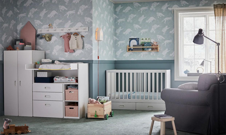 Ideas para sacarle partido al espacio en el dormitorio del bebé