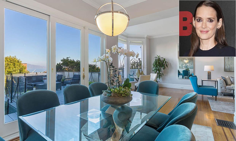Winona Ryder pone en venta su histórica casa de San Francisco