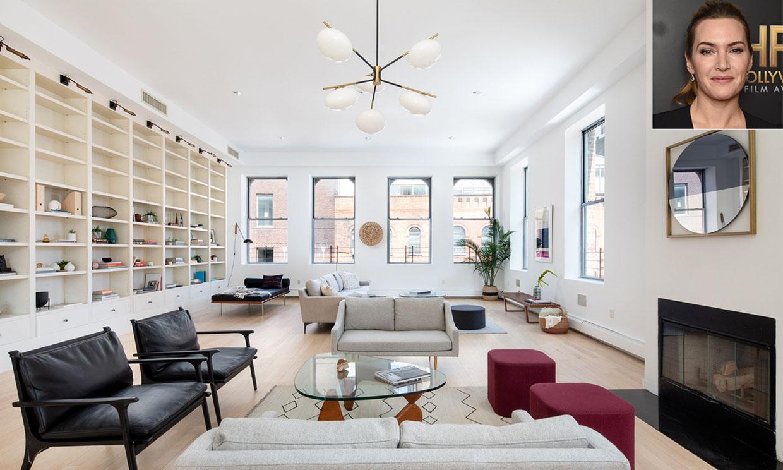 Kate Winslet vende su fabuloso apartamento de Manhattan