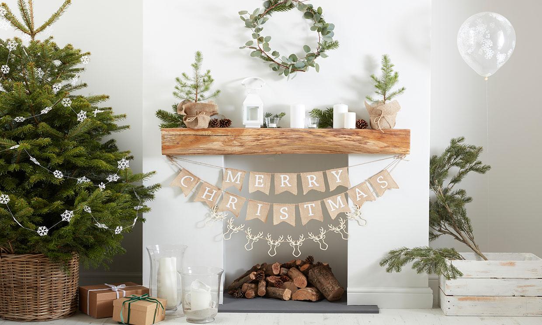 Plantas naturales y flores frescas: la mejor decoración navideña para tu casa