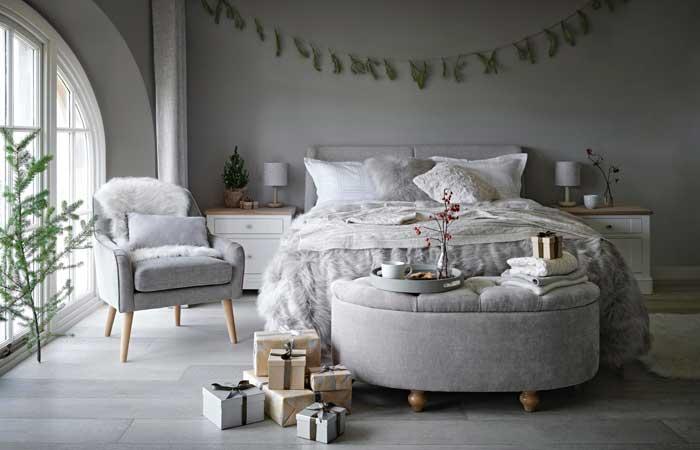 Ideas De Decoración Para Preparar El Dormitorio Para El Crudo Invierno Foto 1