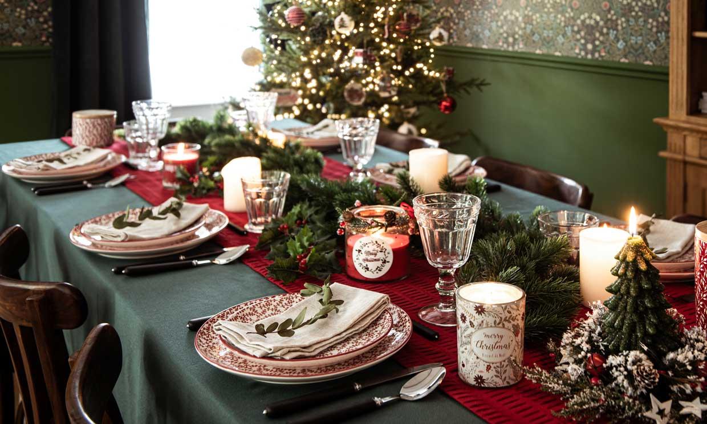 Mesas de Navidad: ideas para decorarlas y celebrar en 'petit comité'