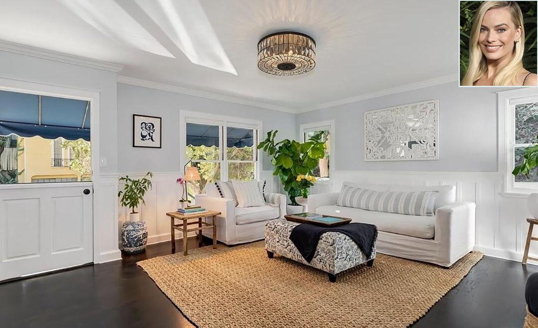 Descubrimos el interior de la casa de Margot Robbie en Hollywood Hills