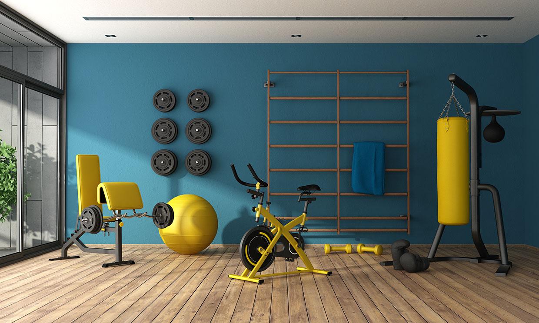 Cómo montar un gimnasio en casa para mantenerte en forma