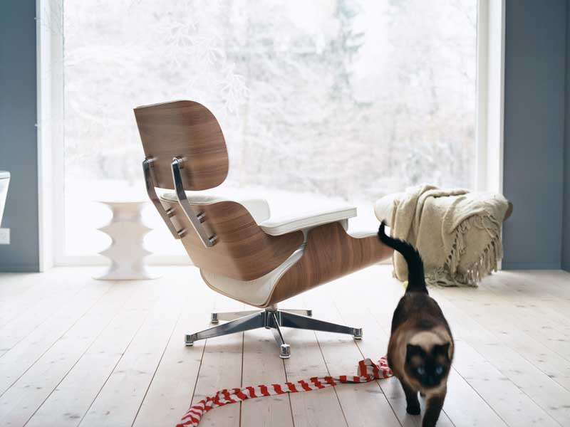 Lounge Chair de los Eames