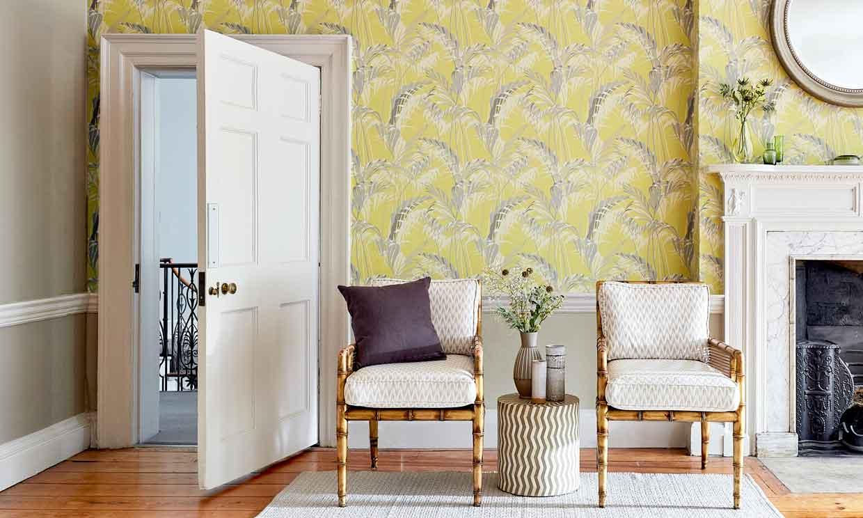 Papeles florales y botánicos, un toque de frescor extra para tus paredes