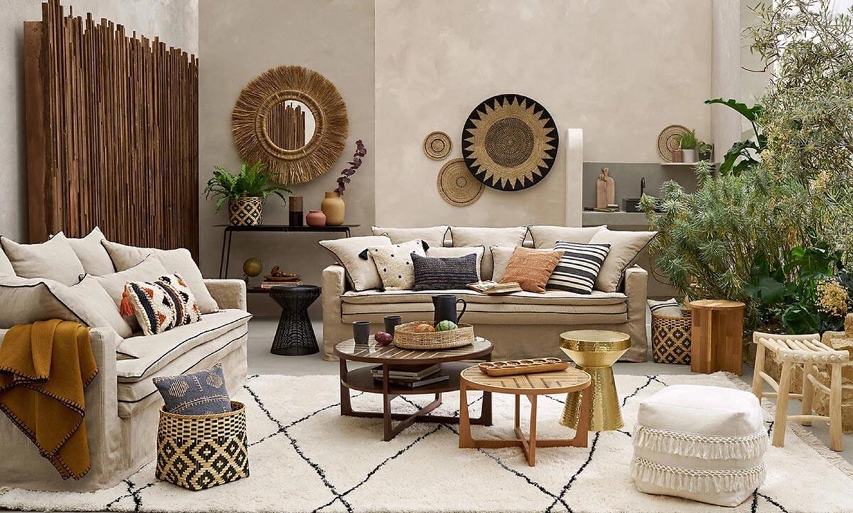 Así son las alfombras étnicas que triunfan para decorar tu casa