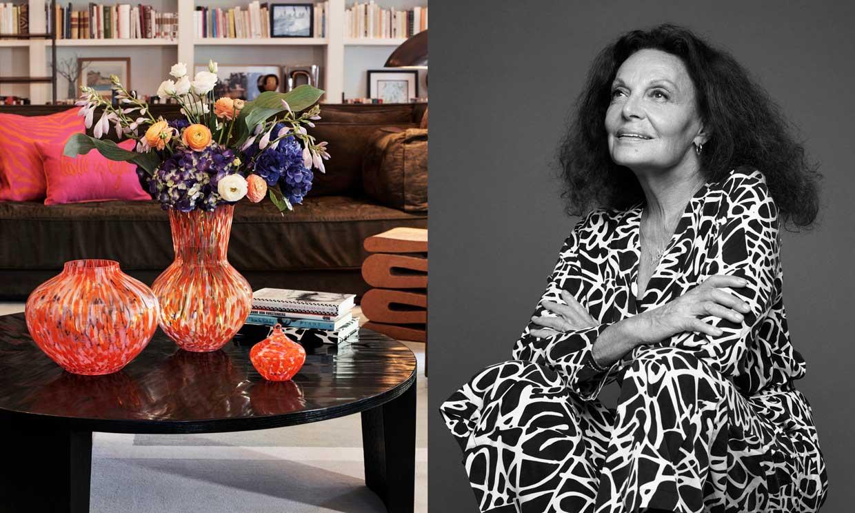El colorido mundo de Diane von Furstenberg inspira la nueva colección de H&M Home