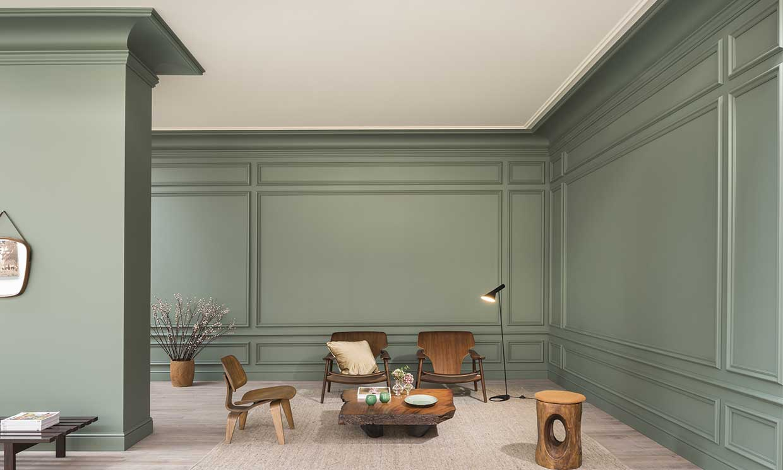 Molduras: cómo instalarlas y subir el nivel de la decoración de tu casa