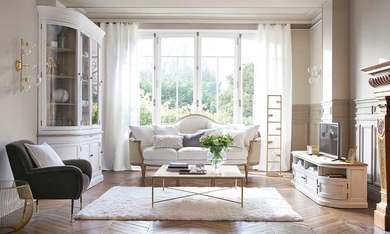 10 razones que te harán desear tener un sofá blanco en tu salón
