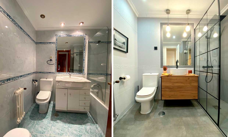 ¡Cambia tu baño sin reforma! Mira el 'antes y después' de estos ejemplos reales