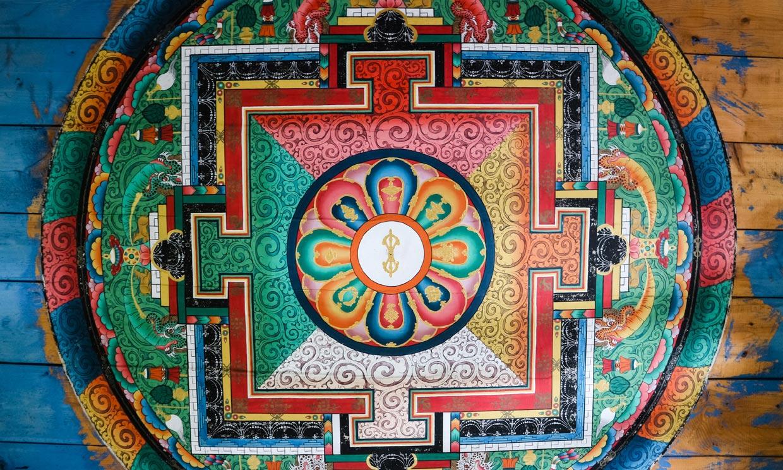 Este es el significado de los colores del mandala