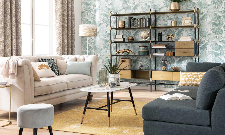 Formas de colocar el sofá en el salón según la distribución