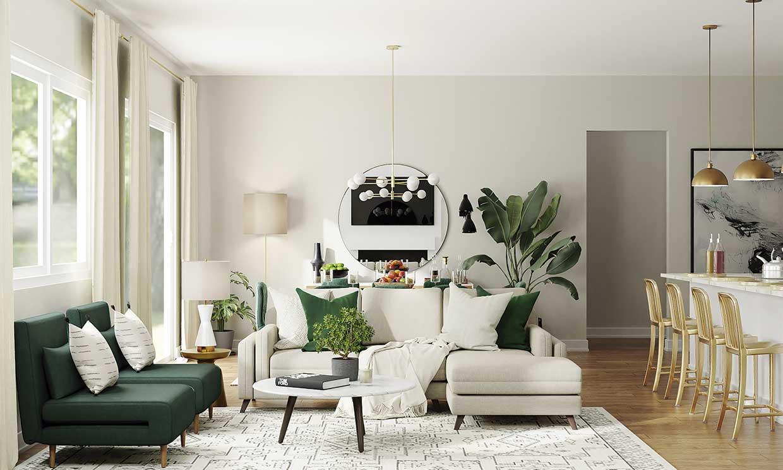 Cómo conseguir un aire más veraniego en casa con colores y plantas