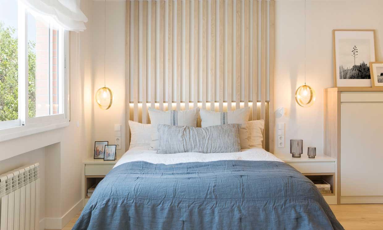 Formas de iluminar la zona de la cama, incluso para leer bien