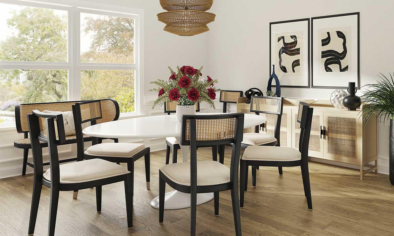 Muebles de rejilla o 'cannage': una tendencia (muy) clásica que regresa con fuerza