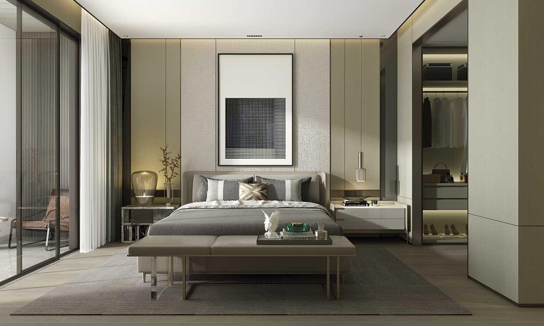Una casa relajada y acogedora con iluminación led