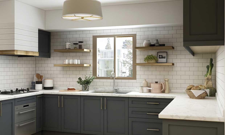 Pinta los azulejos y actualiza tu cocina con la mínima inversión