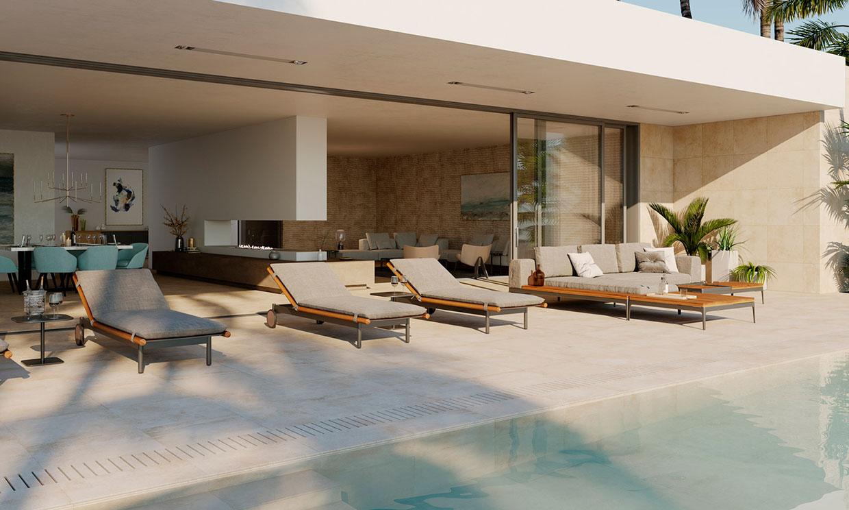 ¿Sabes cuáles son los mejores revestimientos para la zona de la piscina?