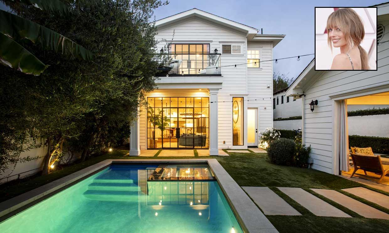 Así es la preciosa casa que Margot Robbie pone a la venta en Los Ángeles