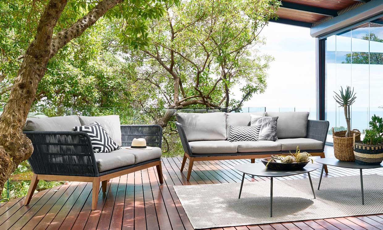 Muebles de cuerda para la terraza o jardín: lo que debes saber de un material 'revival'