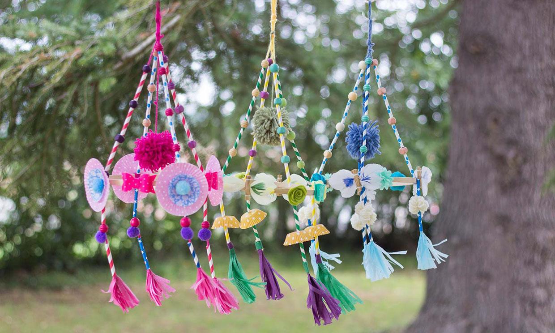Así puedes hacer 'pajakis', unos adornos colgantes muy originales y decorativos
