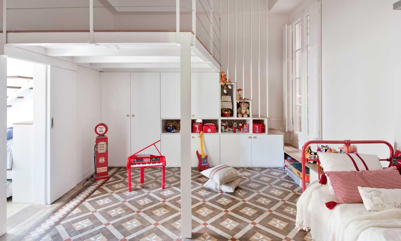 Ideas para montar un rincón lúdico para jugar en la habitación de los niños