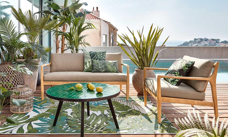 Cómo y dónde colocar las plantas en la terraza y que queden decorativas