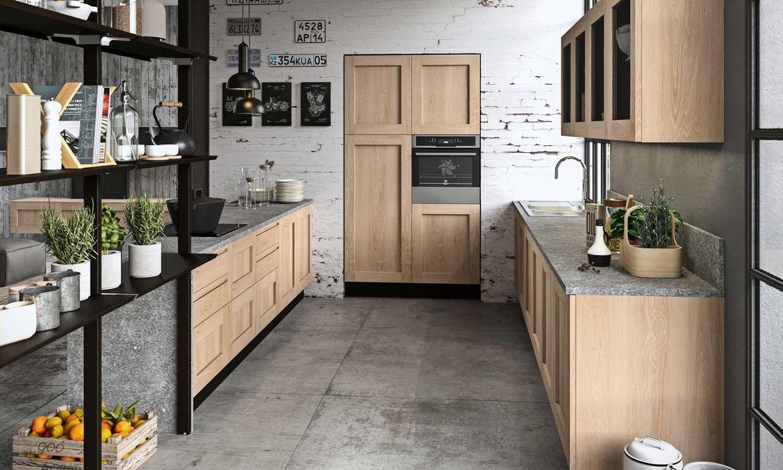 Cómo sacar partido a una cocina 'pasillo' para que crezca en metros y funcionalidad