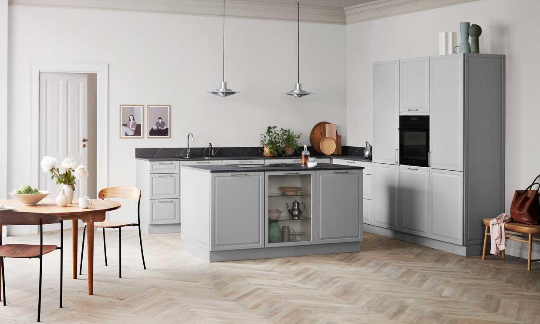 Muebles de cocina, ¿con o sin tiradores?