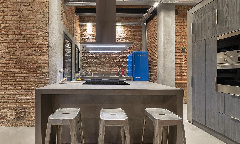 Las claves de estilo de una cocina industrial