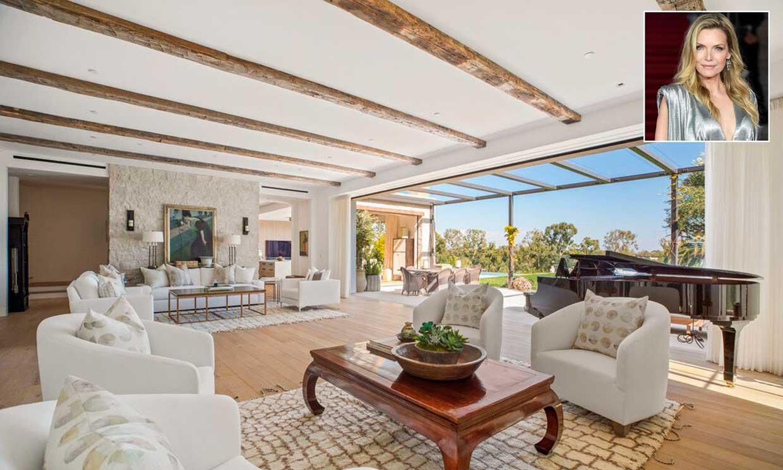 Michelle Pfeiffer vende su impresionante mansión de Los Ángeles, ¿entramos?