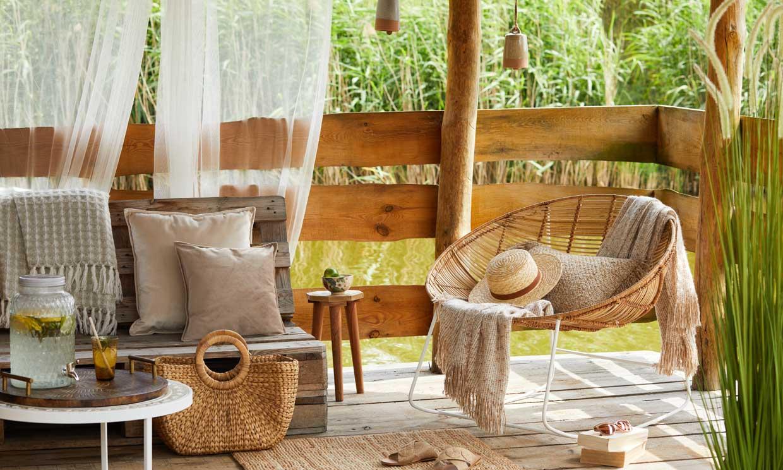 Resérvate una zona 'chill out' en tu terraza o jardín para relajarte este verano