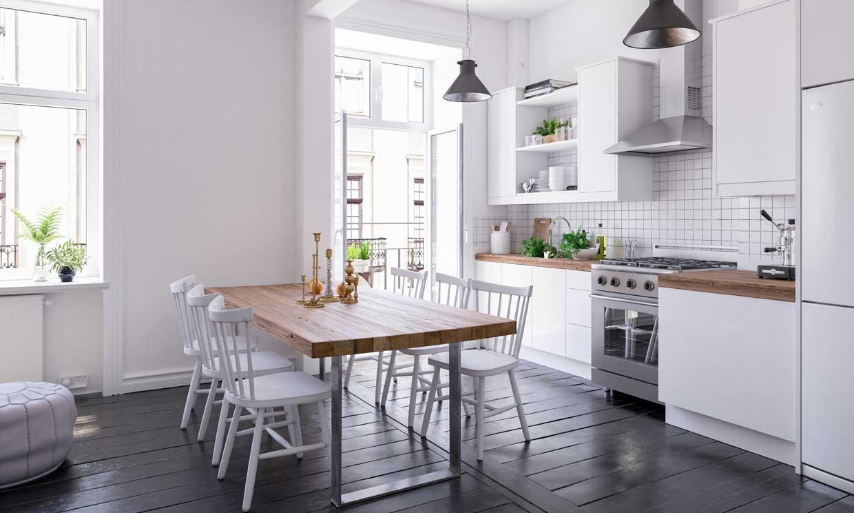 10 claves para decorar una cocina de estilo clásico