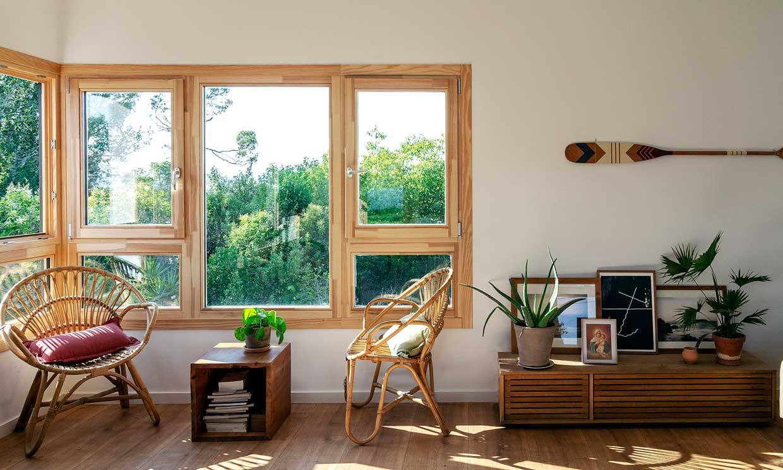 Una casa de campo eficiente y 'slow' para que puedas disfrutar en la naturaleza