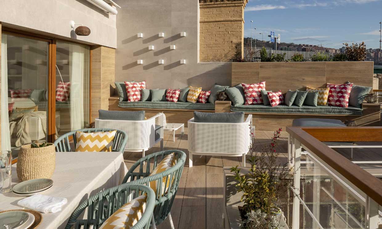 La conversión de dos pisos en un maravilloso dúplex con las mejores vistas de Bilbao