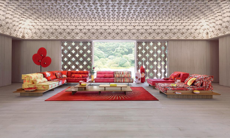 El icónico sofá de Roche Bobois Mah Jong cumple medio siglo