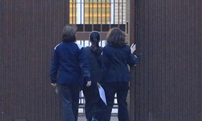 La entrada en prisión de Isabel Pantoja