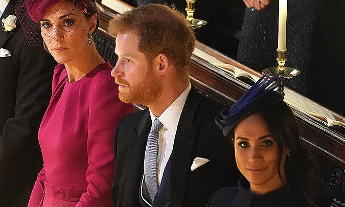 La coincidencia que ha unido a Kate y Meghan en la boda de Eugenia de York y Jack Brooksbank