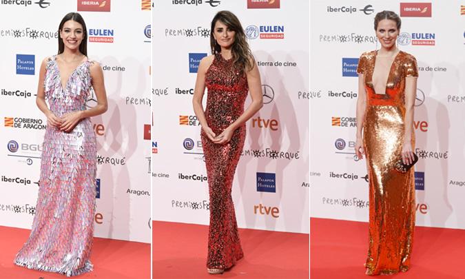 Desfile de 'celebrities' en la alfombra roja