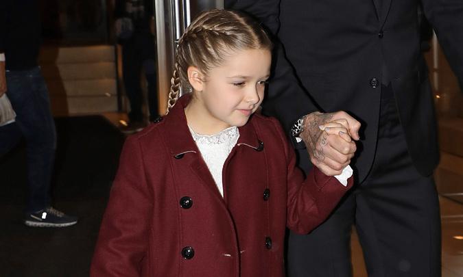 ¡Vaya cambio! No te pierdas el nuevo corte de pelo de Harper Beckham