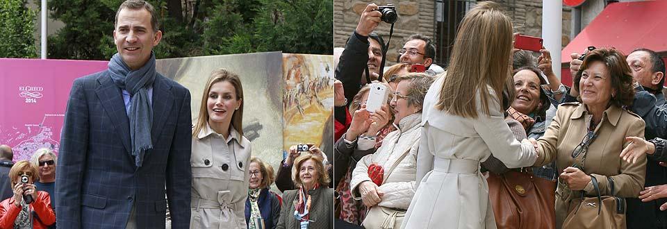 Don Felipe y doña Letizia celebran su aniversario en Toledo