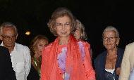 Doña Sofía disfruta de sus últimos días de vacaciones en Mallorca