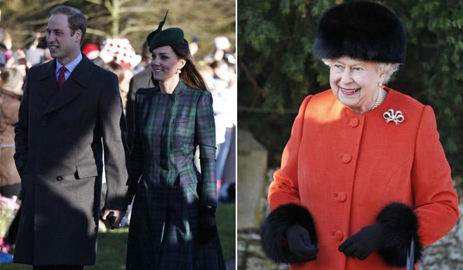 Primera Navidad de los Duques de Cambridge con el príncipe George